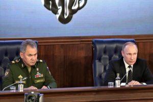 وزير الدفاع الروسي يعلن قتل 35 ألف مقاتل من المعارضة السورية