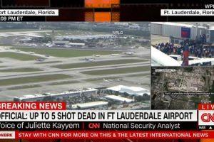 الكشف عن منفذ هجوم مطار فورت لودرديل الأمريكي