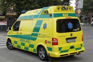 سيارات الإسعاف في العاصمة ستوكهولم تختبر نظام (إفام EVAM) من إنتاج المعهد الملكي للتكنولوجيا