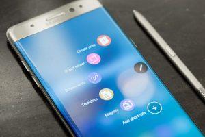 شركة سامسونج تكشف عن سبب احتراق هاتف Galaxy Note 7 بـ 23 يناير