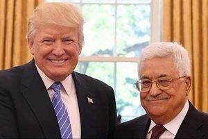 اجتماع مغلق يجمع ترامب بعباس، وتكهنات حول إيحاء مفاوضات السلام بين الفلسطينيين والإسرائيليين