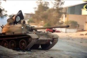 تنظيم أنصار الشريعة في ليبيا ينشر بيانا على الانترنت يعلن فيه عن حل التنظيم