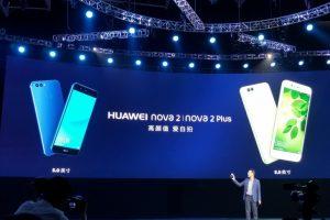 رسميا الكشف عن هاتفي Nova 2 Plus و Nova 2 من قبل هواوي