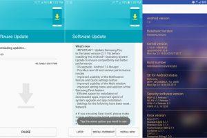بدأ تلقي هاتف جالكسي نوت 5 تحديث Android 7.0 Nougat