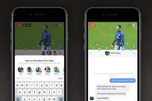 فيسبوك تعمل على إصدار ميزتين لخاصية البث المباشر
