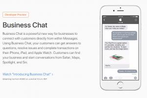 آبل ستكشف عن تطبيق Business Chat يوم 9 يونيو