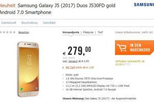 تسريبات عن موعد قدوم هاتف Galaxy J5 إلى اوروبا