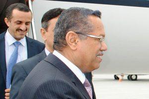 رئيس الحكومة اليمنية يدعو الحوثيين وقوات صالح للقبول بالسلام أو استمرار القتال