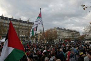 مدن فرنسية تشهد تظاهرات لمئات الأشخاص للتعبير عن رفضهم لزيارة نتنياهو إلى باريس